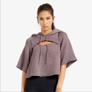 Vimmia verge Sz S cropped hoodie sweatshirt